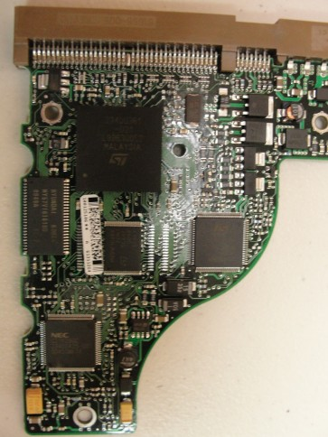ST310211A, 9R4005-105, 3.54, 100125106 A, Seagate IDE 3.5 PCB