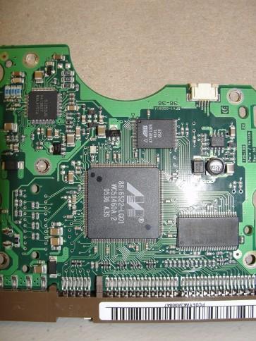 SP1604N/R, BF41-00091A, FW 100-24, Samsung 160GB IDE 3.5 PCB