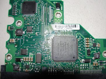 ST3160828AS, 9W2734-030, 3.02, 100363169 J, Seagate SATA 3.5 PCB