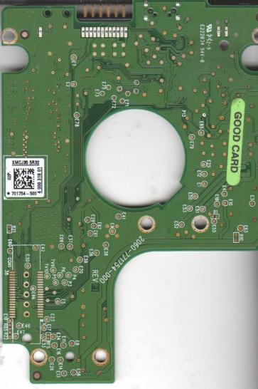 WD5000BMVV-11SXZS1, 701754-500 02P, WD USB 2.5 PCB