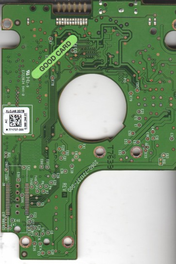 WD3200BMVW-11AMCS0, 771737-300 AC, WD USB 2.5 PCB