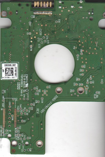 WD10TMVW-11ZSMS4, 771761-101 05P, WD USB 2.5 PCB