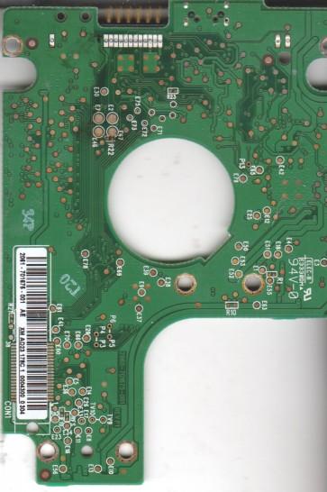 WD6400BMVV-11A1CS0, 2061-701675-001 AE, WD USB 2.5 PCB