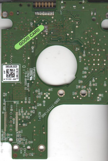 WD10TMVW-11ZSMS1, 771737-600 01P, WD USB 2.5 PCB