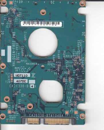 MHV2100BH PL, PN CA06672-B25500C1, Fujitsu 100GB SATA 2.5 PCB