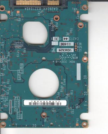 MHZ2160BH G1, PN CA07018-B364000T, Fujitsu 160GB SATA 2.5 PCB