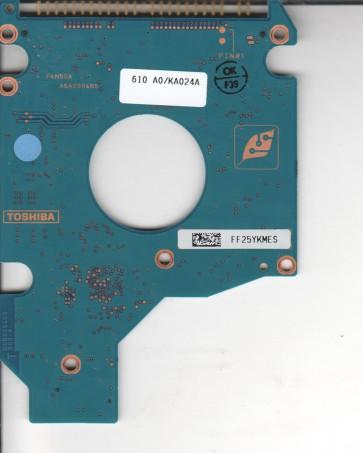 MK8025GAS, HDD2188 F ZK01 S, G5B000465000-A, Toshiba 80GB IDE 2.5 PCB