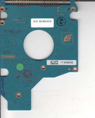 MK8034GSX, HDD1S38 S ZK01 T, G5B001590000-A, Toshiba 80GB SATA 2.5 PCB