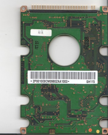 DK227A-41, 9G1K805604, SH115, Hitachi 4.1GB IDE 2.5 PCB