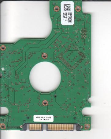 HTS541080G9SA00, 0A25202 DA1008B, PN 0A26144, Hitachi 80GB SATA 2.5 PCB