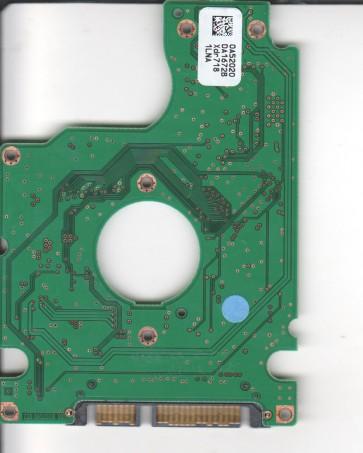 HTS541612J9SA00, 0A52020 DA1672B, PN 0A50559, Hitachi 120GB SATA 2.5 PCB