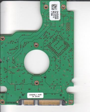 HTS541010G9SA00, 0A25202 DA1008B, PN 0A26145, Hitachi 100GB SATA 2.5 PCB
