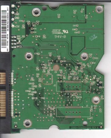 WD1600ADFD-60NLR5, 2061-701453-A00 AE, WD SATA 3.5 PCB