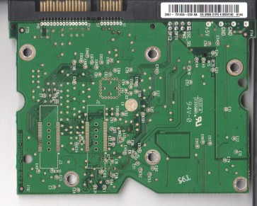 WD1600ADFS-75NLR2, 2061-701453-C00 AB, WD SATA 3.5 PCB