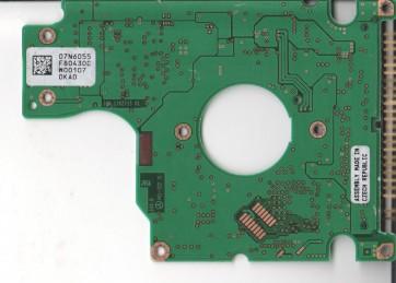 DJSA-210, 07N6055 F80430C, PN 07N5138, IBM 10GB IDE 2.5 PCB