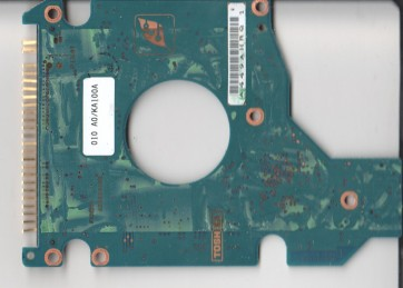MK4025GAS, HDD2190 T ZE01 T, G5B000465000-A, Toshiba 40GB IDE 2.5 PCB
