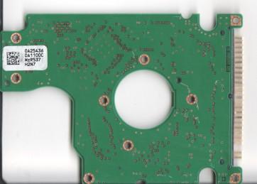 HTS721010G9AT00, 0A25436 DA1100C, PN 0A27247, Hitachi 100GB IDE 2.5 PCB