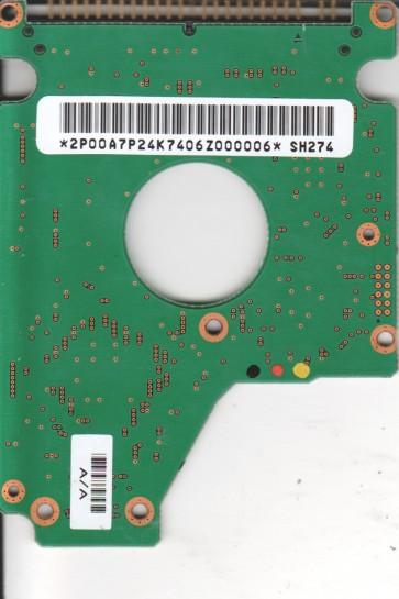 DK23DA-40F, A/A0B4A/A, Hitachi 40GB IDE 2.5 PCB