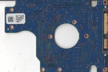 HTS725025A9A364, 0A71428 DA3005A, 0A78272, DA3332, Hitachi SATA 2.5 PCB