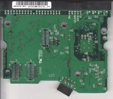 WD200EB-11CSF0, 0000 001100-000 C, WD IDE 3.5 PCB