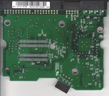 WD1200JB-75EVA0, 2061-001179-000 DB, WD IDE 3.5 PCB
