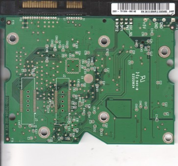 WD740GD-00NLR1, 2061-701384-890 AE, WD SATA 3.5 PCB