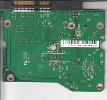 WD7500AYYS-01RCA0, 2061-701474-300 AC, WD SATA 3.5 PCB