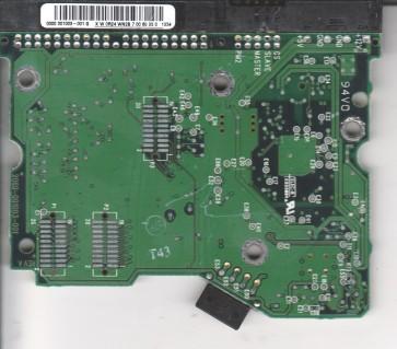 WD400BB-00AUA1, 0000-001003-001 G, WD IDE 3.5 PCB