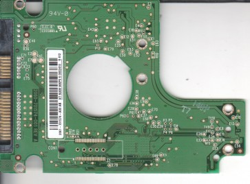 WD1600BJKT-00F4T0, 2061-701574-A00 AB, WD SATA 2.5 PCB