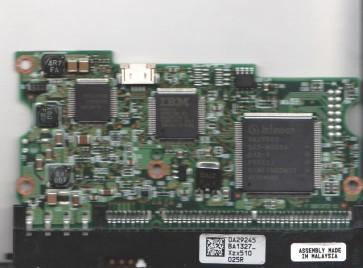 HDS722525VLAT80, 0A29245 BA1327_, PN 14R9249, Hitachi 250GB IDE 3.5 PCB