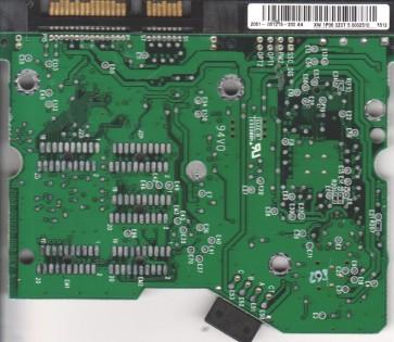 WD2500JD-00FYB0, 2061-001215-200 AA, WD SATA 3.5 PCB