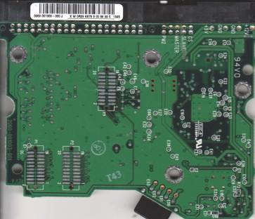 WD100BB-75AUA1, 0000 001003-000 J, WD IDE 3.5 PCB