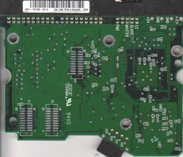 WD600BB-00CAA1, 2061-001092-301 C, WD IDE 3.5 PCB