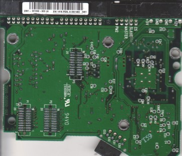 WD800BB-00CAA1, 2061-001092-300 LA, WD IDE 3.5 PCB