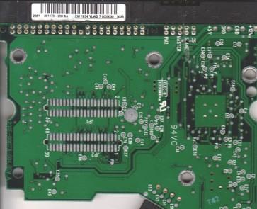 WD1600BB-22FTA0, 2061-001173-200 AA, WD IDE 3.5 PCB