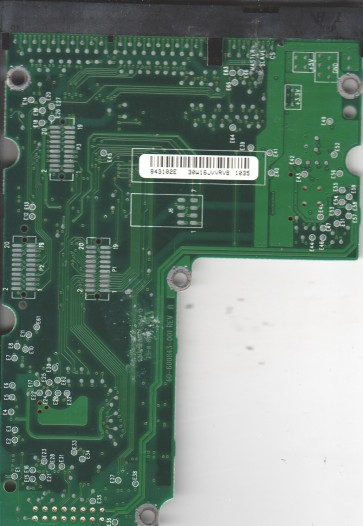 WD307AA-00BAA0, 61-600843-102 E, WD IDE 3.5 PCB