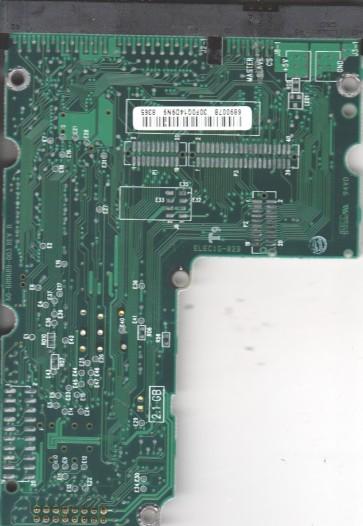 AC36400-00LC, 61-600689-007 B, WD IDE 3.5 PCB