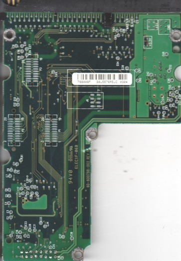 WD136AA-00AAA4, 61-600788-008 F, WD IDE 3.5 PCB