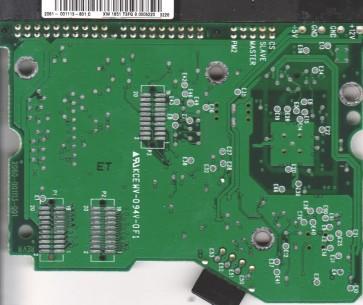 WD200EB-75CPF0, 2061-001113-801 C, WD IDE 3.5 PCB