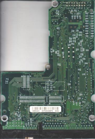 AC24300-00LCC4, 61-600689-022 C, WD IDE 3.5 PCB