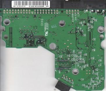 WD800BB-22JHA0, 2061-001292-000 AC, WD IDE 3.5 PCB