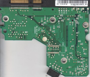 WD2500YS-01SHB0, 2061-701335-200 AB, WD IDE 3.5 PCB