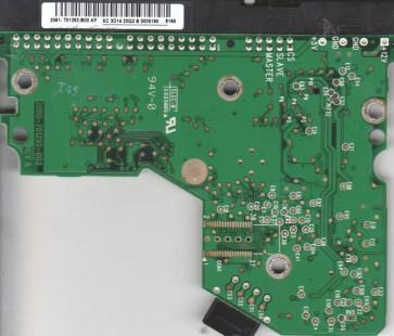 WD2500BB-22RDA0, 2061-701292-B00 AF, WD IDE 3.5 PCB