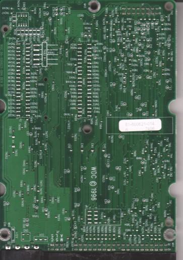 WDAC33100-18H, 61-600621-014 A, WD IDE 3.5 PCB