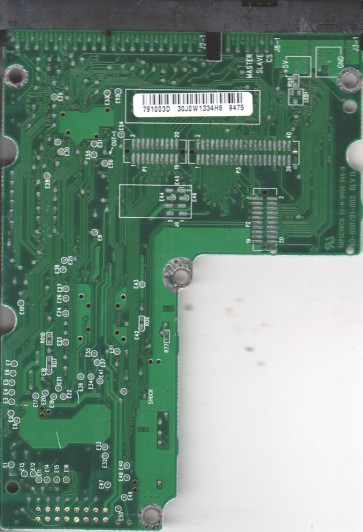 AC14300-00RTT2, 61-600791-003 D, WD IDE 3.5 PCB