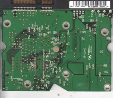 WD800ADFD-75NLR1, 2061-701384-800 AC, WD SATA 3.5 PCB