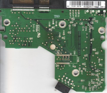 WD2500JS-00MHB1, 2061-701335-A00 AC, WD SATA 3.5 PCB