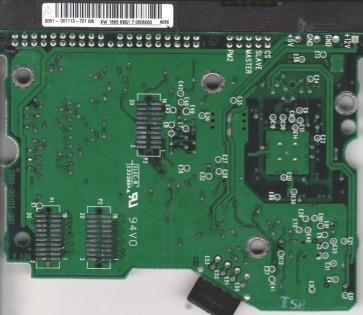 WD400EB-75CPF0, 2061-001113-701 GB, WD IDE 3.5 PCB
