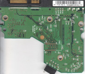 WD2500JS-60NCB1, 2061-701335-B00 AJ, WD SATA 3.5 PCB