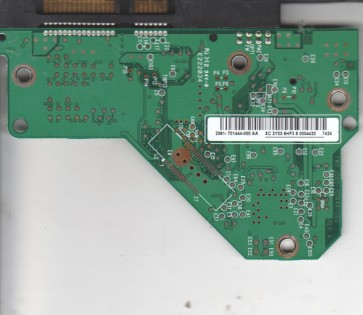 WD5000AAVS-00ZTB0, 2061-701444-000 AA, WD SATA 3.5 PCB